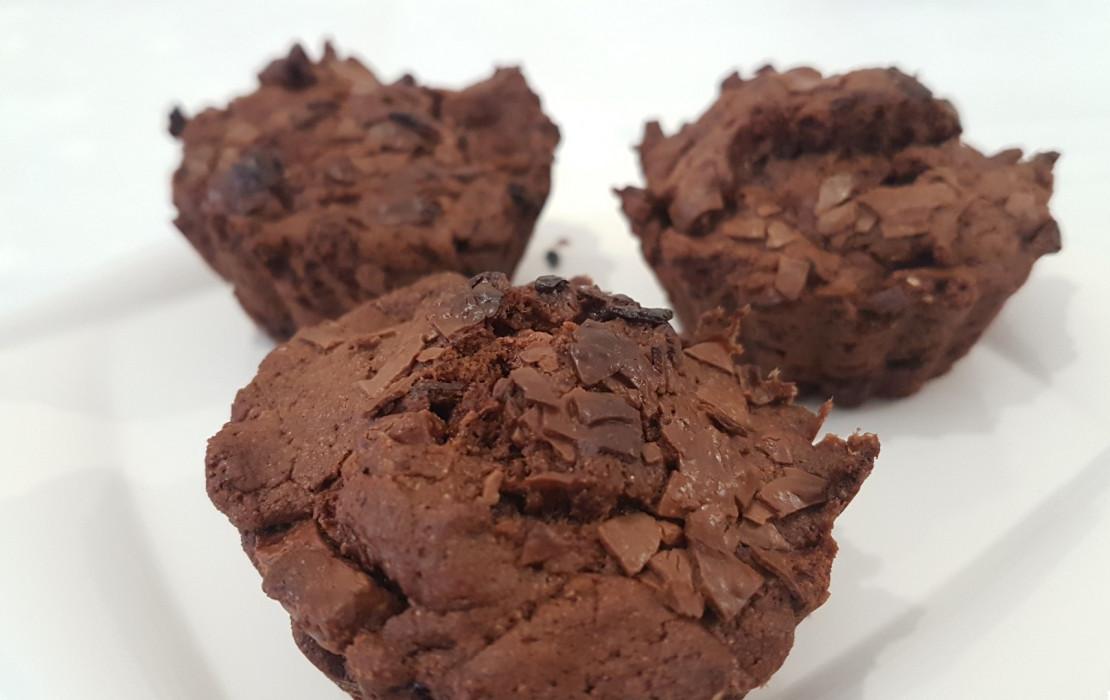 Czekoladowe babeczki muffinki.