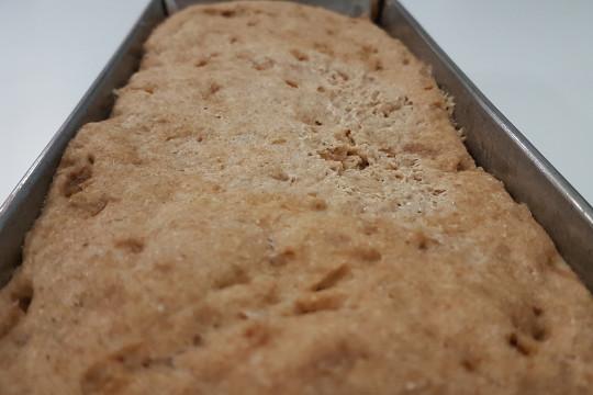 Nasz domowy chleb podwoił swoją objętość.
